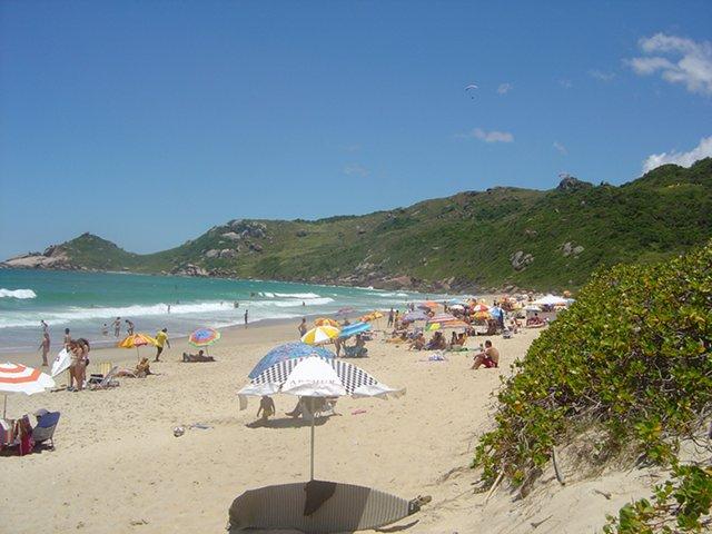 Praia Mole en Florianópolis