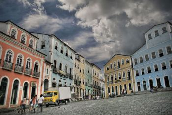 Largo do Pelourinho y fundación casa de Jorge Amado