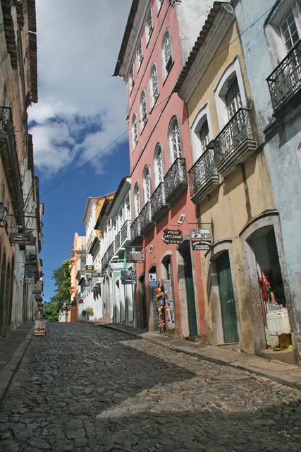 calle en el Pelourinho