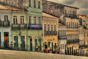 Casas en el Largo do Pelourinho