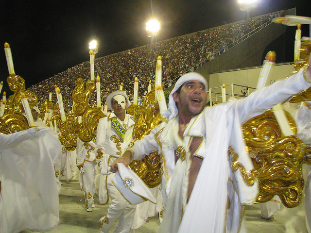 Desfile Unidos da Tijuca en el carnaval 2010