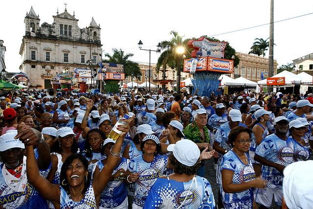 Carnaval en el circuito Batatinha (Pelourinho)