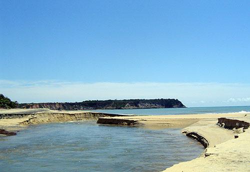 Praia do Espelho - Costa del Descubrimiento