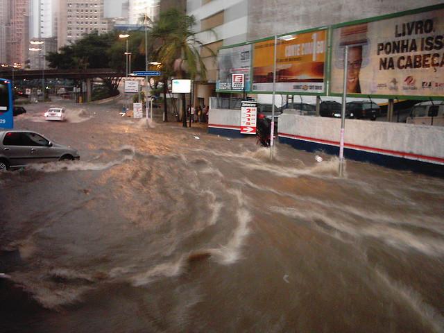 Inundación en San Pablo