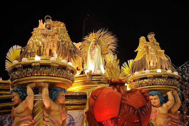 Mangueira campeona carnaval de Río de Janeiro 2016