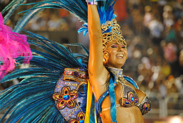 Vila Isabel en el carnaval de Río 2012