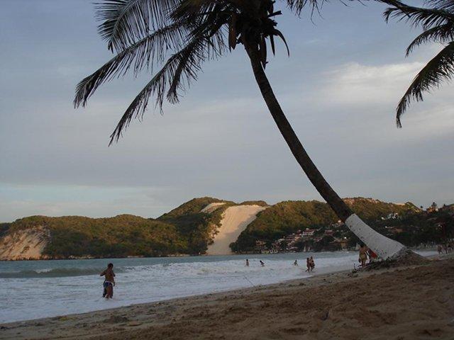 Playa en Natal al atardecer
