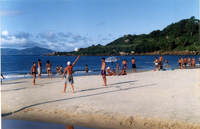 Playa en Pinheira (Santa Catarina)