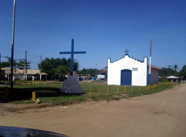 Iglesia camino a Praia do Espelho