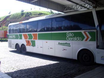 Omnibus de la empresa São Geraldo