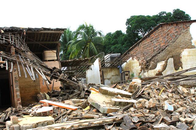 Destrucción luego de las inundaciones en Alagoas