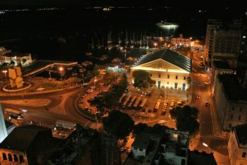 Mercado modelo de noche- Salvador de Bahía