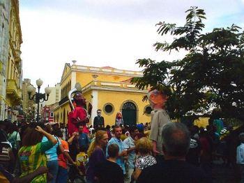 Carnaval en las calles de Florianópolis