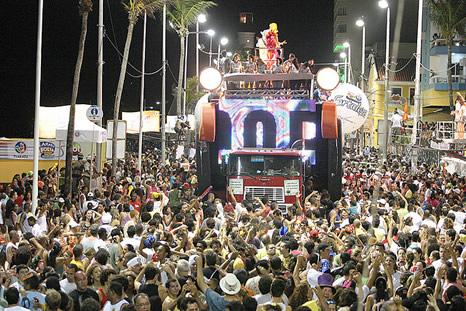 Carnaval en circuito de Barra - Salvador de Bahía