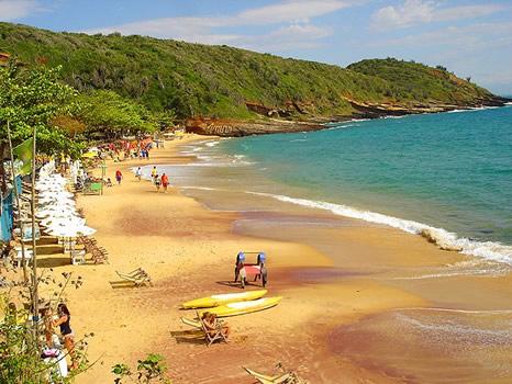 Playa João Fernandes en Búzios