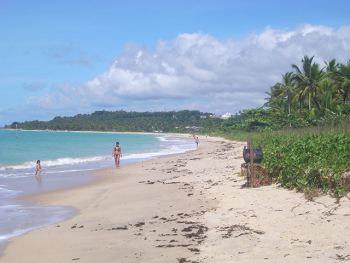 Playa de Araçaipe en Arraial d'Ajuda