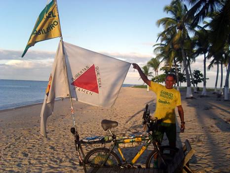Gabriel y las banderas