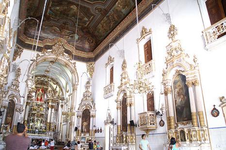 Interior de la Iglesia do Senhor do Bonfim