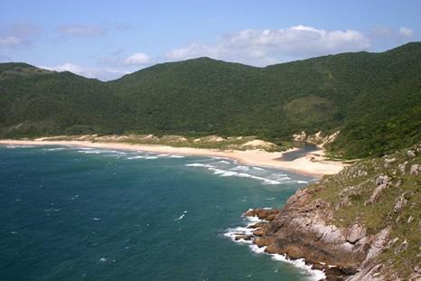Playa de Lagoinha do Leste - Florianópolis