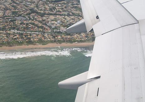 Sobrevolando Salvador de Bahía