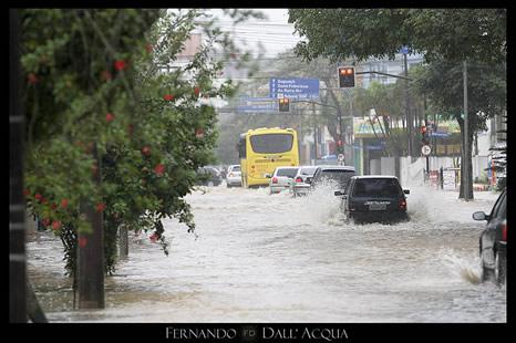 Inundaciones en Joinville, Santa Catarina