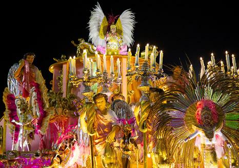 Desfile Carnaval Río de Janeiro