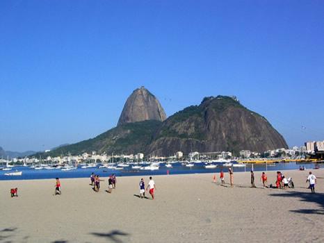 Playa de Botafogo y pan de azucar