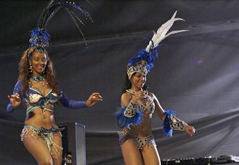 Bailarinas de la Escola do Samba Portela