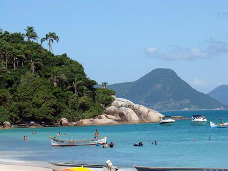 Playa en isla de Campeche - Florianópolis