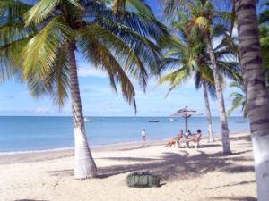 Playa cercana a la cruz de Coroa Vermelha