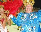 Rey Momo y Reina del Carnaval de Florianópolis