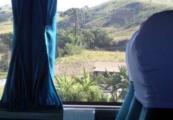 Viajando por Brasil en Bus